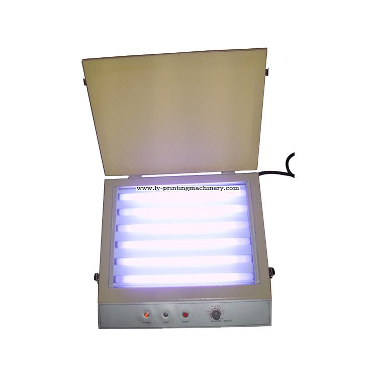 Mini UV exposure machine for pad plate