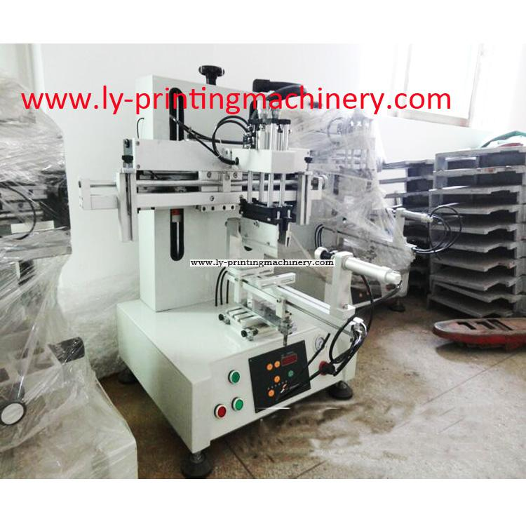 New Desktop Cylindrical Screen Printing Machine for round shape items