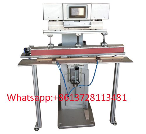 1200x85mm long size 1 color pad printer